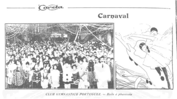 Folia de 1919 'triunfou como enorme vingança', relatou publicação. Foto: Revista Careta/Acervo Biblioteca Nacional