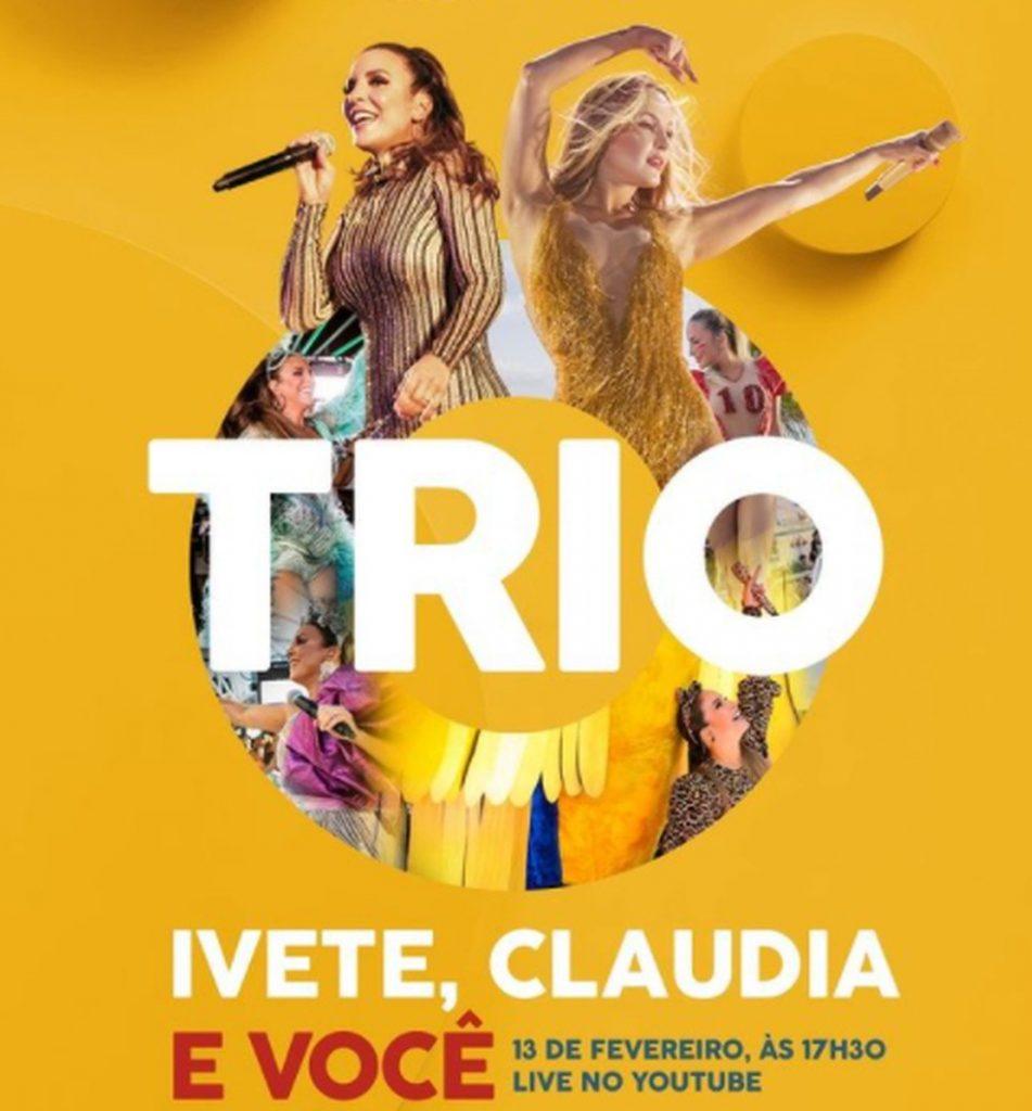 Claudia Leitte e Ivete Sangalo farão live de Carnaval juntas — (Foto: Reprodução/Instagram)