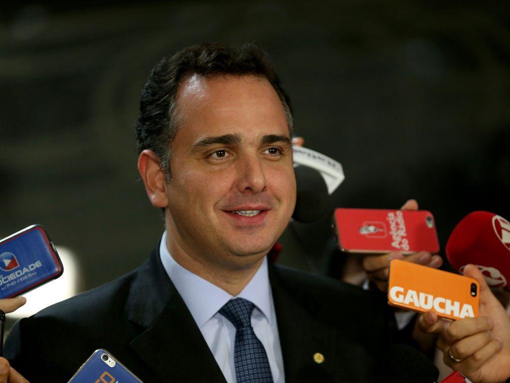 Senador Rodrigo Pacheco (DEM-MG). Foto: Wilson Dias/Agência Brasil
