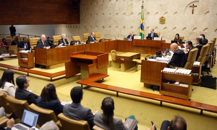 Plenário do Supremo Tribunal Federal, em Brasília. (Foto: Nelson Jr./SCO/STF)